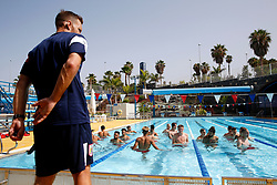 Bristol City players undergo a recovery session in the pool after morning training - Mandatory by-line: Matt McNulty/JMP - 18/07/2017 - FOOTBALL - Tenerife Top Training Centre - Costa Adeje, Tenerife - Pre-Season Training