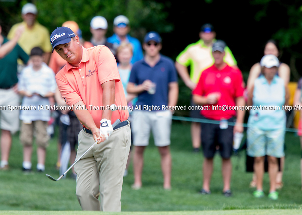 June 04 2016:  Dublin, OH, USA: Jason Dufner during the Third Round of the Memorial Tournament presented by Nationwide at the Muirfield Village Golf Club. (Photo by Jason Mowry/Icon Sportwire)