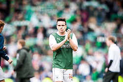 Falkirk's Sean Higgins at the end..Hibernian 4 v 3 Falkirk, William Hill Scottish Cup Semi Final, Hampden Park...