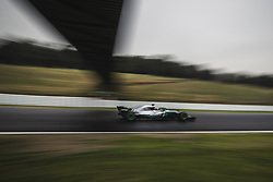 March 1, 2018 - Barcelona, Catalonia, Spain - VALTTERI BOTTAS (FIN) drives in his Mercedes W09 EQ Power + during day four of Formula One testing at Circuit de Catalunya (Credit Image: © Matthias Oesterle via ZUMA Wire)