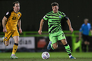 Forest Green Rovers Josh March(28) during the EFL Sky Bet League 2 match between Forest Green Rovers and Port Vale at the New Lawn, Forest Green, United Kingdom on 11 February 2020