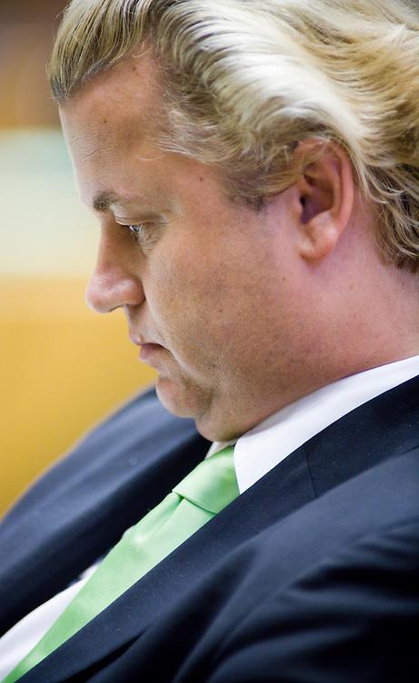 Nederland. Den Haag, 19 juni 2007.<br /> Geert Wilders, fractievoorzitter PVV. Partij voor de Vrijheid.<br /> Foto Martijn Beekman <br /> NIET VOOR TROUW, AD, TELEGRAAF, NRC EN HET PAROOL