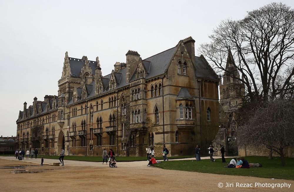 UK ENGLAND OXFORD 30MAR14 - Christchurch college in Oxford, England.<br /> <br /> jre/Photo by Jiri Rezac<br /> <br /> &copy; Jiri Rezac 2014