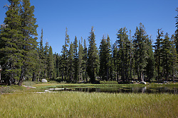 """""""Five Lakes 13"""" - Photograph of one of the Five Lakes in the Tahoe area."""