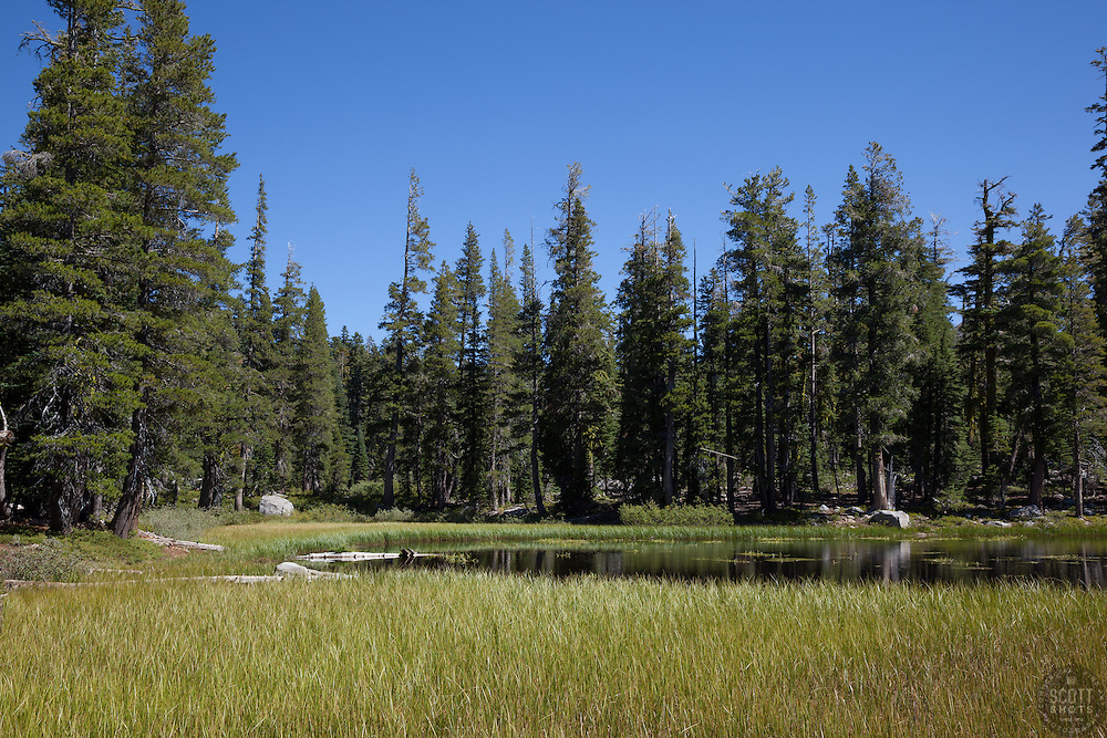 """Five Lakes 13"" - Photograph of one of the Five Lakes in the Tahoe area."
