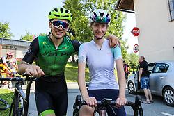 Katja Pozun at Sloveian Road Cycling Championship Time Trial 2020 Gorje - Pokljuka, on June 28, 2020 in Pokljuka, Slovenia. Photo by Matic Klansek Velej / Sportida