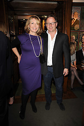 NICK JONES and KIRSTY YOUNG at 'Heavenly Ivy' a play to commemorate 20 years of The Ivy Restaurant, held at The Ivy, West Street, London on 8th November 2010.