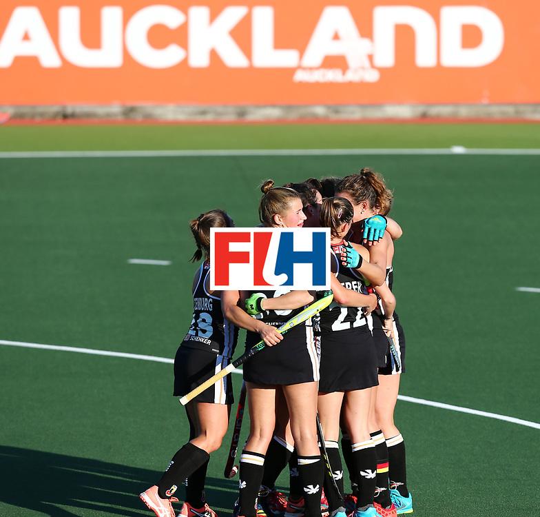 New Zealand, Auckland - 22/11/17  <br /> Sentinel Homes Women&rsquo;s Hockey World League Final<br /> Harbour Hockey Stadium<br /> Copyrigth: Worldsportpics, Rodrigo Jaramillo<br /> Match ID: 10303 - GER vs KOR<br /> Photo: