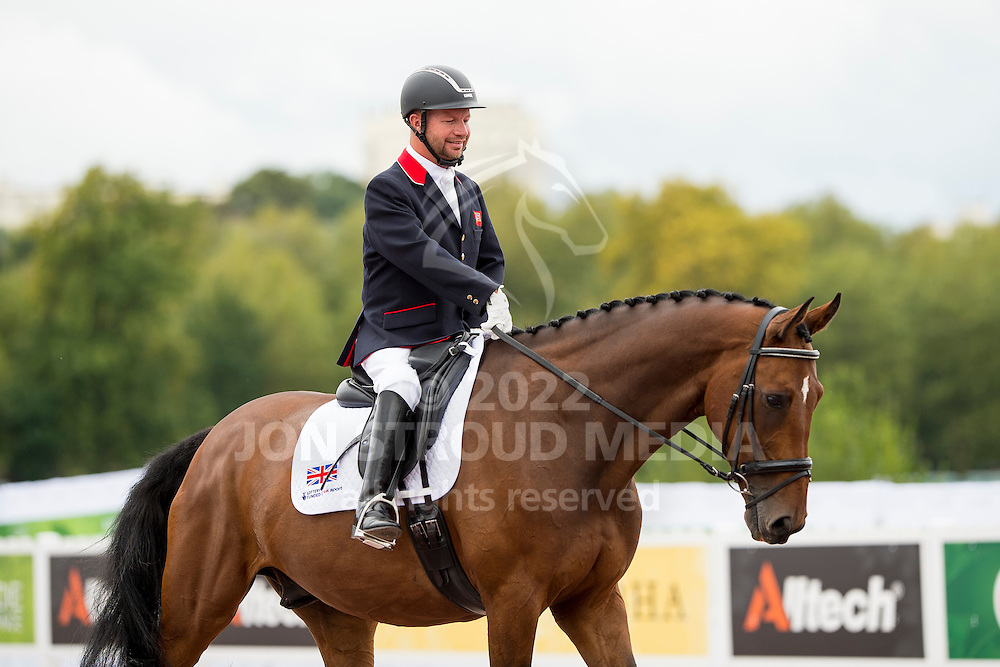Lee Pearson, (GBR), Zion - Individual Test Grade Ib Para Dressage - Alltech FEI World Equestrian Games&trade; 2014 - Normandy, France.<br /> &copy; Hippo Foto Team - Jon Stroud <br /> 25/06/14