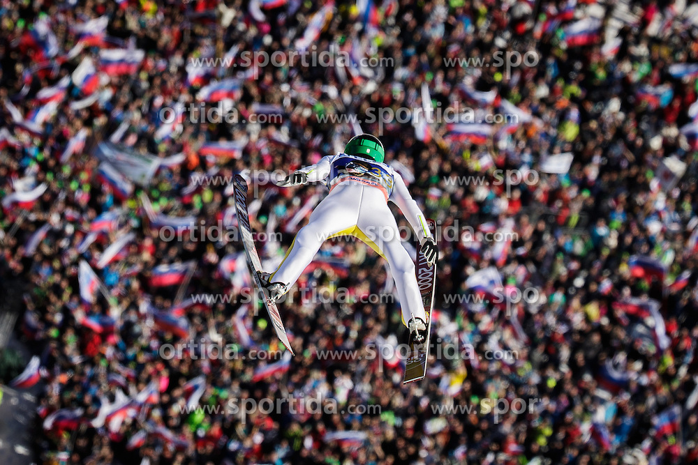 Anze Lanisek (SLO) during the Ski Flying Hill Individual Competition at Day 2 of FIS Ski Jumping World Cup Final 2016, on March 18, 2016 in Planica, Slovenia. Photo by Ziga Zupan / Sportida