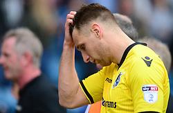 Lee Brown of Bristol Rovers looks dejected at full time. - Mandatory by-line: Alex James/JMP - 14/04/2017 - FOOTBALL - MEMS Priestfield Stadium - Gillingham, England - Gillingham v Bristol Rovers - Sky Bet League One