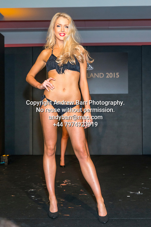 27-08-2015<br /> Miss Scotland 2015 final at Raddison Blu, Glasgow.<br /> <br /> Bikini round - Romy McCahill<br /> <br /> Pic:Andy Barr<br /> <br /> www.andybarr.com<br /> <br /> Copyright Andrew Barr Photography.<br /> No reuse without permission.<br /> andybarr@mac.com<br /> +44 7974923919