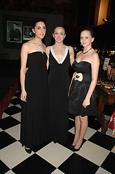 Left to right, ALEX FAGAN, ALEX REES and EMMA REES at the 2008 Berkeley Dress Show at the Royal Hospital Chelsea, London on 3rd April 2008.<br /><br />NON EXCLUSIVE - WORLD RIGHTS