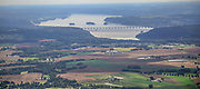 Aerial view of the Penn State Areea of Harrisburg PA