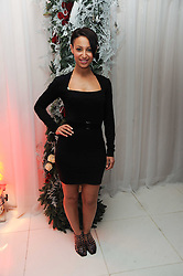 Amelle Berrabah at the launch of the English National Ballet's Christmas season 2009 held at the St.Martin;s Lane Hotel, London on 15th December 2009.