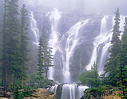Tangle Falls, Jasper National Park, Alberta, Canada 1995