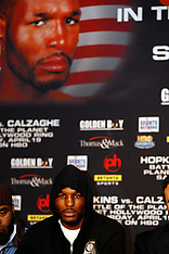 February 19, 2008: Joe Calzaghe vs Bernard Hopkins Press Conference