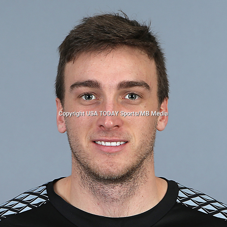 Feb 25, 2016; USA; Seattle Sounders FC player Tyler Miller poses for a photo. Mandatory Credit: Corky Trewin-USA TODAY Sports