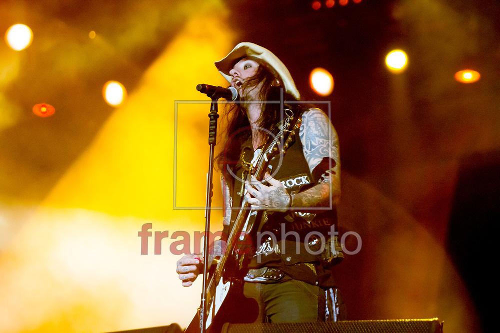 RIO DE JANEIRO (RJ) - 22/09/2013 -  Show de KIARA ROCKS, no palco mundo do ROCK IN RIO 2013, realizado na cidade do rock, bairro de Jacarepagua, Rio de Janeiro, RJ. Foto: Ide Gomes/Frame