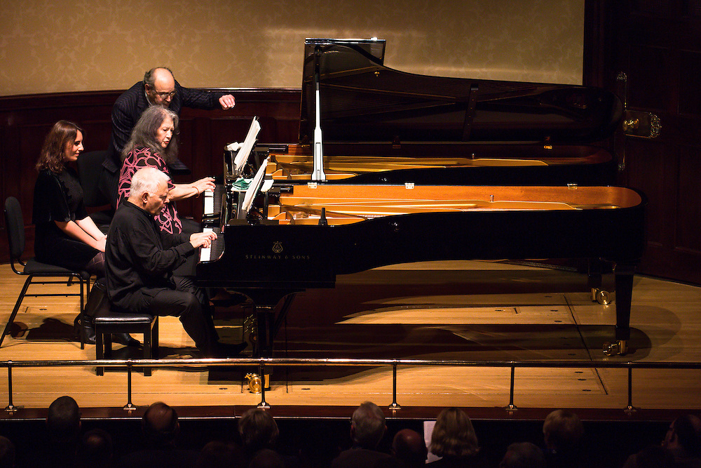 Martha Argerich joins Stephen Kovacevich to celebrate his 75th birthday at Wigmore Hall