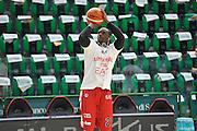 DESCRIZIONE : Beko Legabasket Serie A 2015- 2016 Dinamo Banco di Sardegna Sassari - Olimpia EA7 Emporio Armani Milano<br /> GIOCATORE : Rakim Sanders<br /> CATEGORIA : Riscaldamento Before Pregame<br /> SQUADRA : Olimpia EA7 Emporio Armani Milano<br /> EVENTO : Beko Legabasket Serie A 2015-2016<br /> GARA : Dinamo Banco di Sardegna Sassari - Olimpia EA7 Emporio Armani Milano<br /> DATA : 04/05/2016<br /> SPORT : Pallacanestro <br /> AUTORE : Agenzia Ciamillo-Castoria/C.AtzoriCastoria/C.Atzori