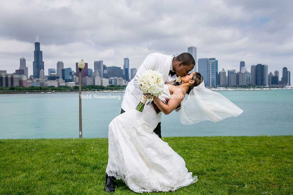 5/21/13 10:51:47 AM .The wedding of April and Sakou on Windy City Live... . © Todd Rosenberg Photography 2013