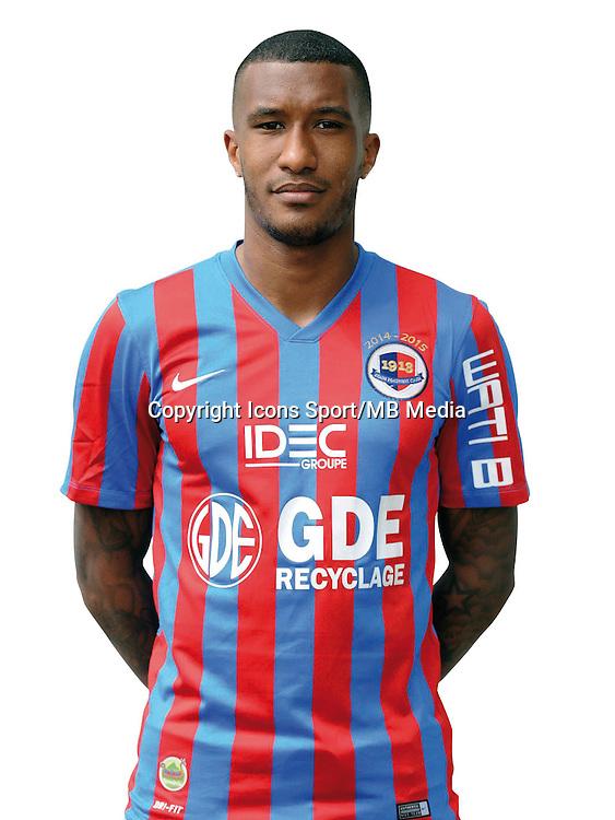 Emmanuel IMOROU - 17.09.2014 - Portrait officiel - Caen - Ligue 1<br /> Photo : Icon Sport