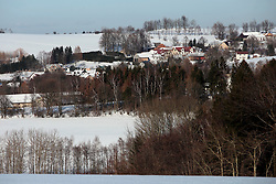 CZECH REPUBLIC NEDVEZI 19JAN19 - View of the village of Nedvezi, Vysocina region, Czech Republic.<br /> <br /> <br /> <br /> jre/Photo by Jiri Rezac<br /> <br /> <br /> <br /> © Jiri Rezac 2019