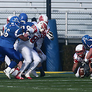 Smyrna lineman AnthonyDelRe (24) recovers the loose ball during the DIAA division one Football Championship game between Top-seeded Middletown (11-0) and second-seeded Smyrna (11-0) Saturday, Dec. 03, 2016 at Delaware Stadium in Newark.