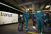 Eben Etzebeth of South Africa arrives for the match during the Rugby Championship match between the New Zealand All Blacks & South Africa at Westpac Stadium, Wellington on Saturday 27th July 2019. Copyright Photo: Grant Down / www.Photosport.nz