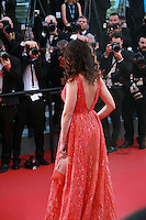 Actress Andie MacDowell faces photographers at the gala screening for the film Inside Out at the 68th Cannes Film Festival, Monday May 18th 2015, Cannes, France