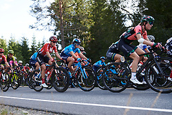 Alicia Gonzalez (ESP) in the bunch during Ladies Tour of Norway 2019 - Stage 2, a 131 km road race from Mysen to Askim, Norway on August 23, 2019. Photo by Sean Robinson/velofocus.com