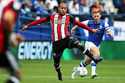 Leon Clarke of Sheffield United  - Mandatory by-line:  Matt McNulty/JMP - 24/09/2017 - FOOTBALL - Hillsborough - Sheffield, England - Sheffield Wednesday v Sheffield United - Sky Bet Championship