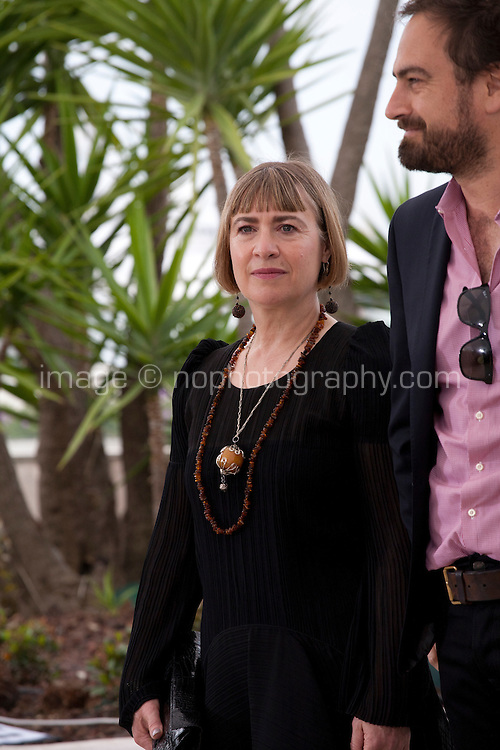 Producer Laura Hastings-Smith, director Justin Kurzel, at the Macbeth film photo call at the 68th Cannes Film Festival Saturday 23rd May 2015, Cannes, France.