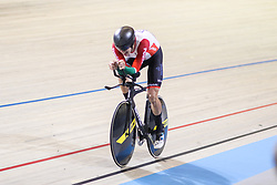 March 2, 2018 - Apeldoorn, Netherlands - Ivo Oliveira of Portugal competes in the men's individual pursuit race final during the UCI Track Cycling World Championships in Apeldoorn on March 2, 2018. (Credit Image: © Foto Olimpik/NurPhoto via ZUMA Press)