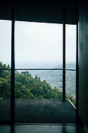 A room with a view at the Santani Resort, overlooking the Knuckles Mountain Range, Kandy, Sri Lanka, Asia