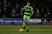 Forest Green Rovers Paul Digby(20) on the ball during the EFL Sky Bet League 2 match between Forest Green Rovers and Mansfield Town at the New Lawn, Forest Green, United Kingdom on 29 January 2019.