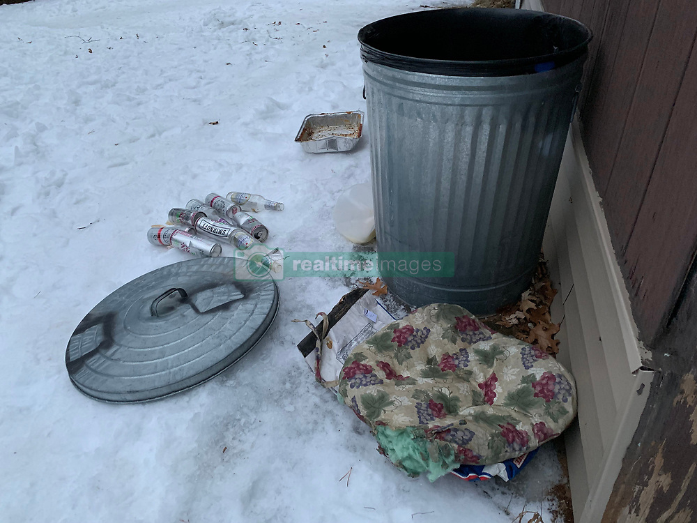 EXCLUSIVE: Inside squalid basement 'cell' where Jayme Closs was held captive. The secret den complete with a scruffy mattress and cuddly stuffed pig is beneath alleged abductor Jake Thomas Patterson's tumbledown forest cabin in rural Gordon, Wisconsin. 14 Jan 2019 Pictured: The secret den complete with a scruffy mattress and cuddly stuffed pig is beneath alleged abductor Jake Thomas Patterson's tumbledown forest cabin in rural Gordon, Wisconsin. Photo credit: Radar Online/MEGA TheMegaAgency.com +1 888 505 6342
