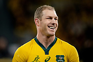 SYDNEY, AUSTRALIA - SEPTEMBER 07: David Pocock of the Wallabies smiles before the international rugby test match between the Australian Wallabies and Manu Samoa on September 07, 2019 at Bankwest Stadium in Sydney, Australia. (Photo by Speed Media/Icon Sportswire)