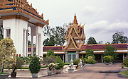 The Royal Palace of Cambodia, in Phnom Penh.
