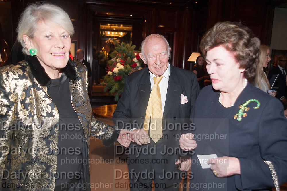 PRINCESS LOEWENSTEIN; PRINCE RUPERT LOEWENSTEIN; THE DUCHESS OF RUTLAND, Book launch for ' Daughter of Empire - Life as a Mountbatten' by Lady Pamela Hicks. Ralph Lauren, 1 New Bond St. London. 12 November 2012.
