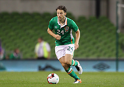 Ireland's Harry Arter - Mandatory by-line: Ken Sutton/JMP - 31/08/2016 - FOOTBALL - Aviva Stadium - Dublin,  - Republic of Ireland v Oman -
