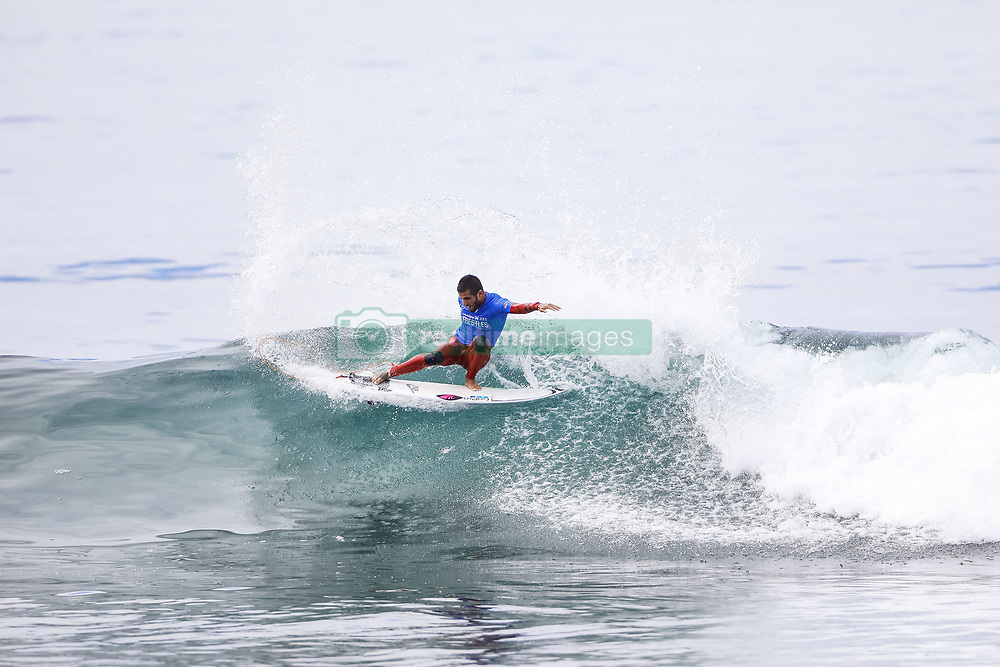 September 15, 2017 - Current No.9 on the Jeep Leaderboard Filipe Toledo of Brazil of South Africa advances to the Final of the 2017 Hurley Pro Trestles after defeating current No.2 and reigning World Champion John John Florence of Hawaii in Semifinal Heat 2 at Trestles, CA, USA...Hurley Pro at Trestles 2017, California, USA - 15 Sep 2017 (Credit Image: © Rex Shutterstock via ZUMA Press)