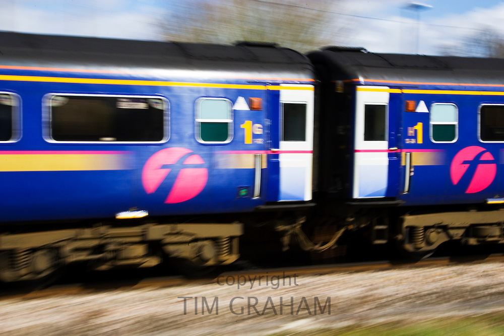 First Great Western Train, Oxfordshire, United Kingdom