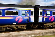 First Great Western Train, Oxfordshire, United Kingdom