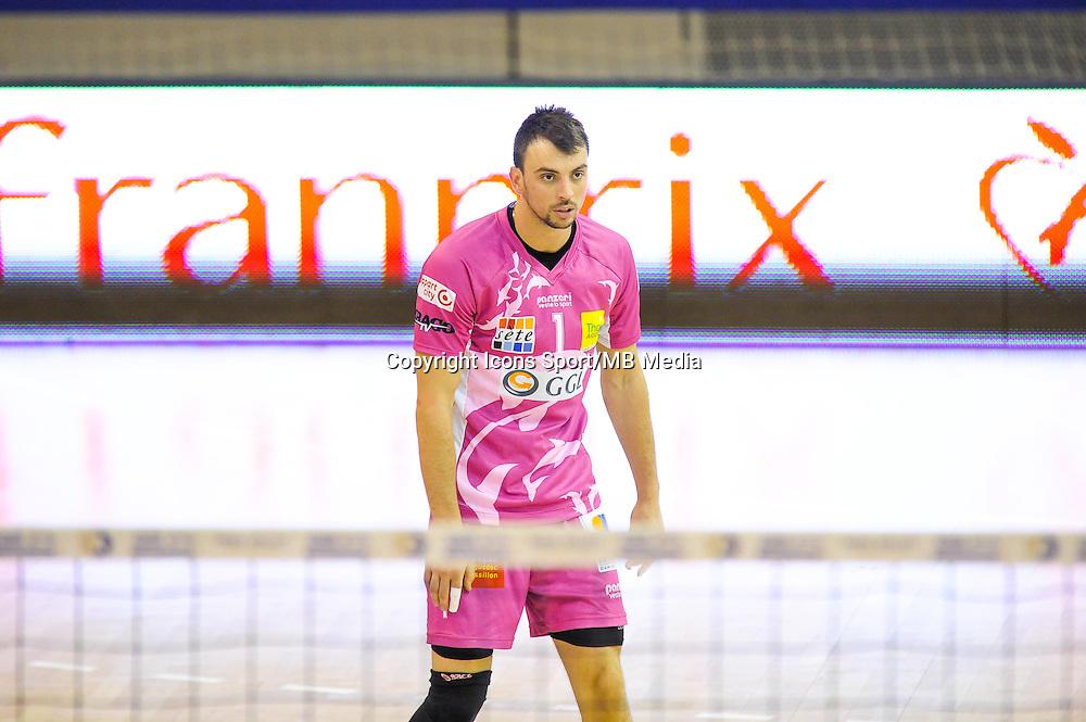 Ivan Raic - 20.12.2014 - Paris Volley / Sete - 12eme journee de Ligue A<br /> Photo : Andre Ferreira / Icon Sport