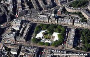 aerial photograph of Charlotte Square Edinburgh Scotland