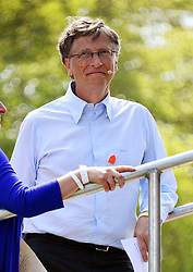 Big IF London<br /> Bill Gates during Big IF London. A campaign to tackle world hunger, Hyde Park<br /> London, United Kingdom<br /> Saturday, 8th June 2013<br /> Picture by Nils Jorgensen / i-Images
