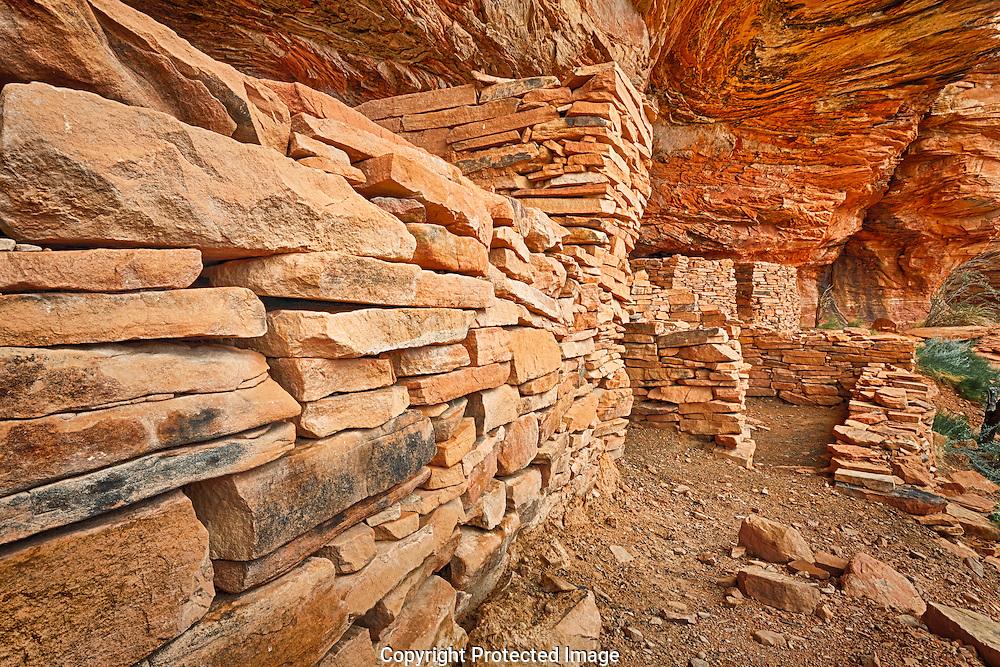 Sinagua Indian, ancient dwelling, Loy Canyon, Coconino National Forest, Sedona, AZ