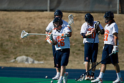 The Virginia Cavaliers scrimmaged the Navy Midshipmen in lacrosse at the University Hall Turf Field  in Charlottesville, VA on February 2, 2008.